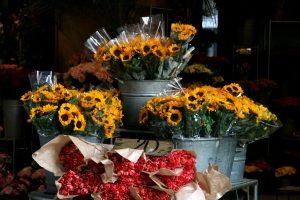 wiazanki w kwiaciarni